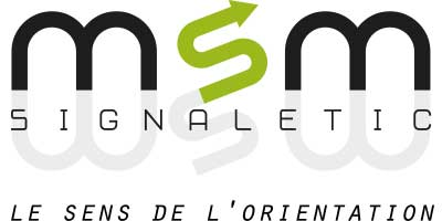logotype msm signaletic