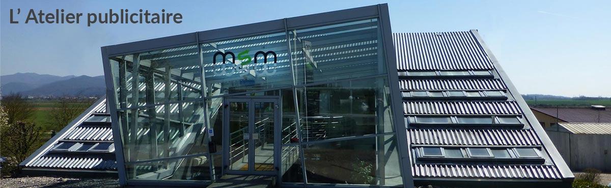 Atelier publicitaire Impression publicité Lyon Grenoble Annecy